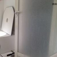 お風呂場、鏡の白いうろこ(水垢)のクリーニングのサムネイル