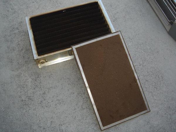 タバコ用電気集塵機クリーニング(群馬県高崎市)
