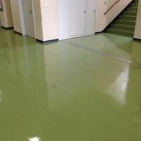 群馬県立高校様の床ワックス清掃のサムネイル